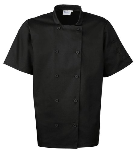 Premier - Short Sleeve Chef's Jacket