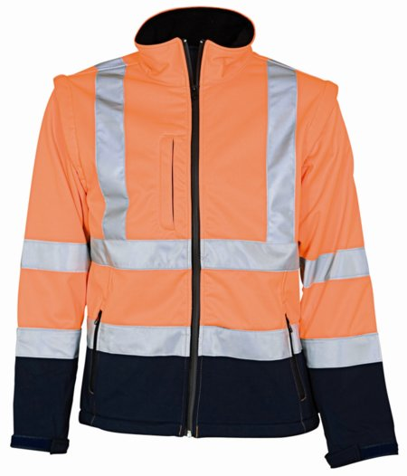 Softshell Jacket with detachable sleeves 086500R
