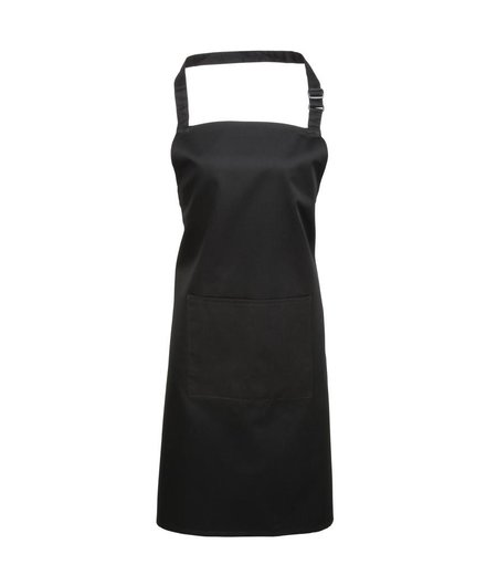 Premier - 'Colours' Bib Apron with Pocket